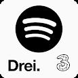 3 & Spotify icon