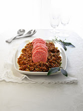 Photo: This year I'm happy to share an Italian New Year's Eve tradition, that you can make, too. http://www.hippressurecooking.com/italian-new-years-eve-tradition-pressurecookerized-pork-sausage-lentils/