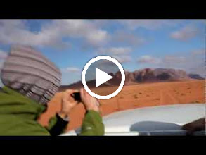 Video: The bumpy jeep ride out of Wadi Rum