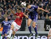 Anderlecht speelde 1-1 gelijk tegen Manchester United