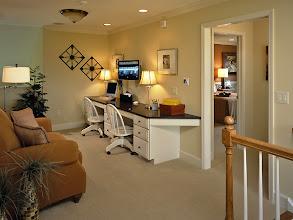 Photo: The tech-loft in our MULBERRY model home at Southwick Meadows