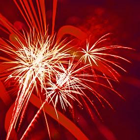 Fireworks, Rehoboth Beach, Delaware, USA by Bill Frank - Public Holidays July 4th