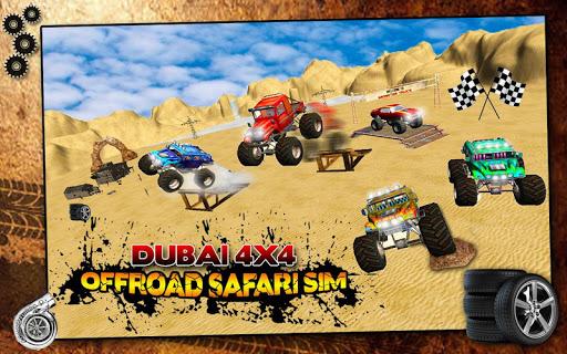迪拜四轮驱动越野辛的Safari