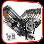 V8 Engine 3D Live Wallpaper 4.0