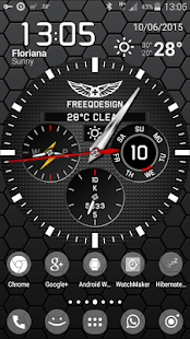WatchMaker Live Wallpaper Screenshot