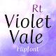 RtVioletVale™ Latin FlipFont Download on Windows