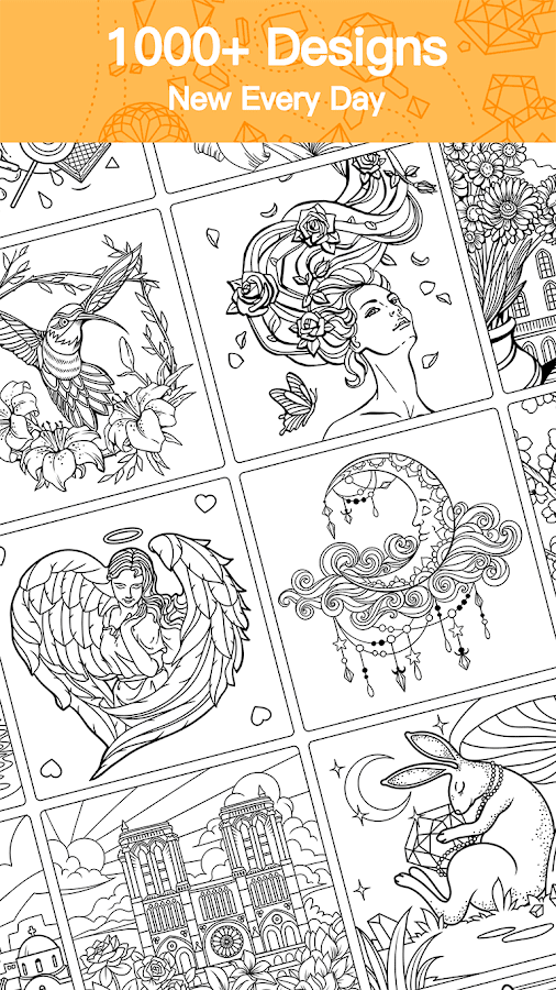 Adult Coloring Book Premium- スクリーンショット