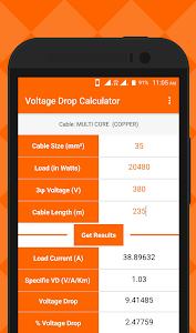 Voltage Drop Calculator | MEP 1.1