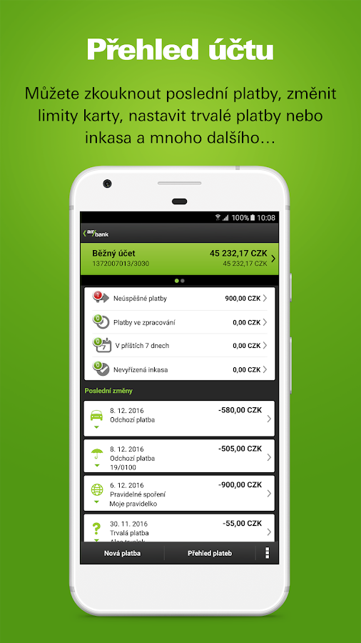 Screenshots of Mobile banking for iPhone