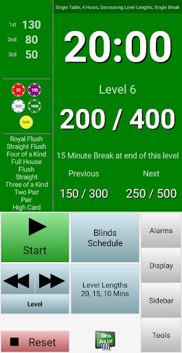 Blinds Are Up! Poker Timer apktram screenshots 2