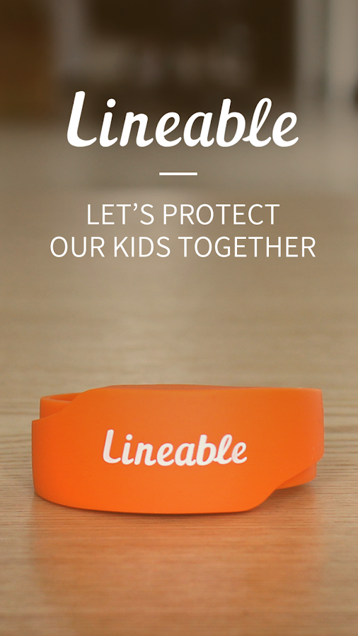 Lineable, Smart band for Kids- screenshot