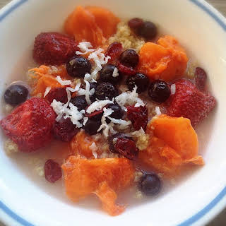 Fruity Quinoa Breakfast Bowl.