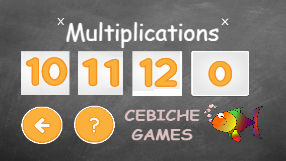 android learn multiplication Screenshot 1