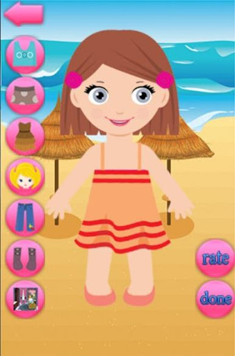 Dress Up Game 4 Girls