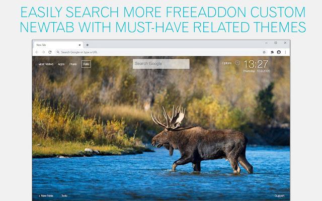 Moose Wallpaper HD Moose New Tab