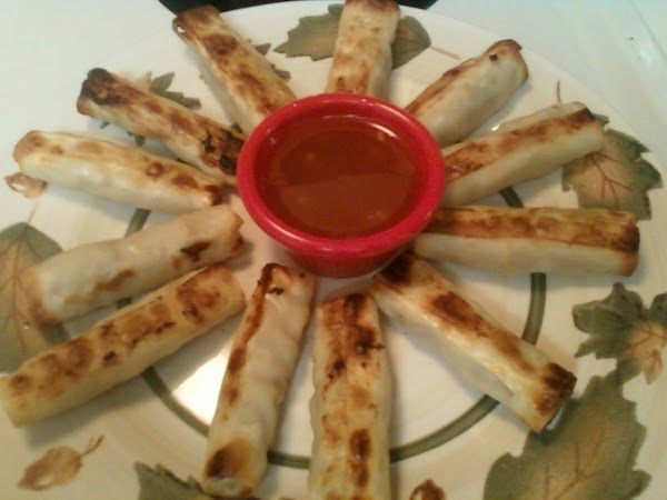 Baked Weight Watchers Lumpia And Dipping Sauce Recipe