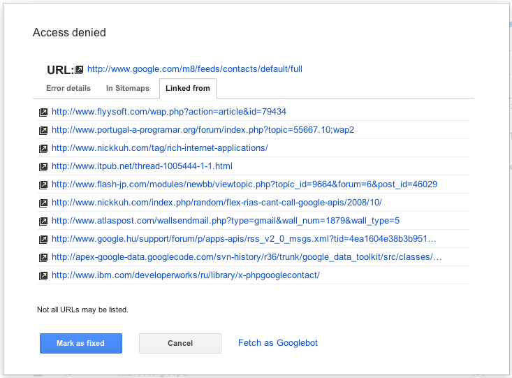Official Google Webmaster Central Blog: Crawl Errors: The