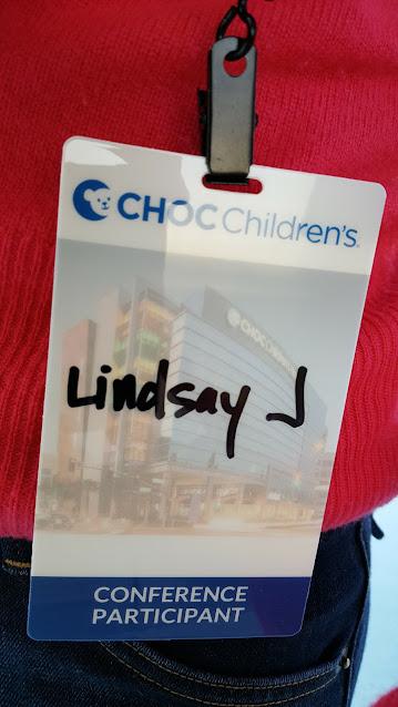 photo of ID participant badge