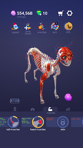 Idle Pet - Create cell by cell  screenshots 1