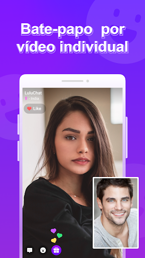 LuluChat-vfun video chat, random chat, video calls Screen Shot