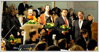 Photo: Kantorei Wismar singt Weihnachstoratorium I-III von J.S. Bach (21.12.2008)