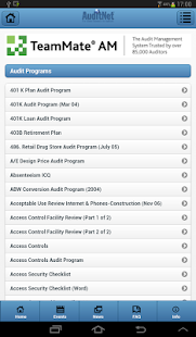 AuditNet®- screenshot thumbnail