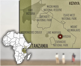Photo: Where are these places? Kenya & Tanzania below South Sudan, East Africa