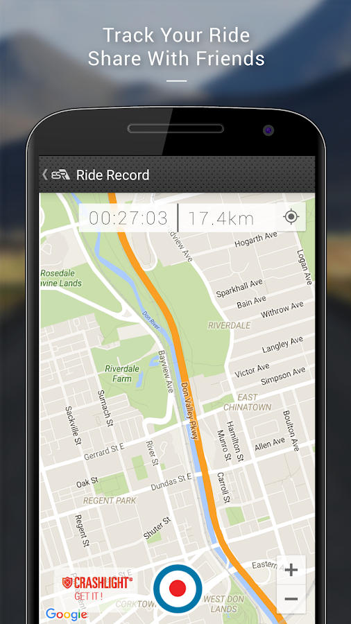 EatSleepRIDE Motorcycle GPS- screenshot