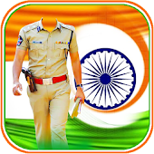 Republic Day Police Dress Suit Photo Editor