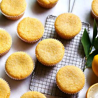Lemon Polenta Muffins.