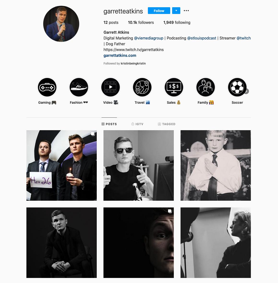 Garrett Atkins | Founder of Digital Marketing Agency, VIE Media