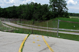 Photo: The Invisible Billy Mitchel Bridge - Road America