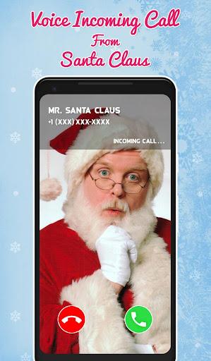 Fake Santa Claus Video Calling Simulator screenshot 2