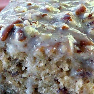 Southern Pecan Praline Sheet Cake, Mouthwatering Coconut Butter Pecan Flavor!.