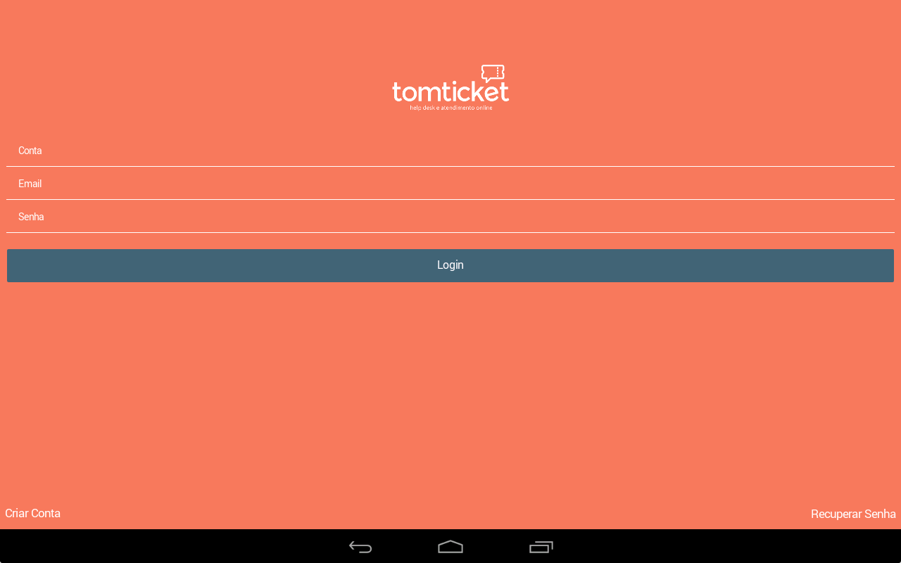 TomTicket: Help Desk- screenshot
