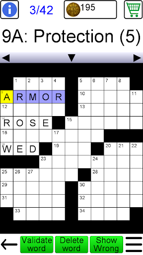 Crossword apktreat screenshots 1
