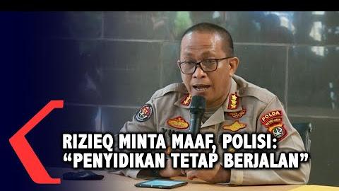 Berita Hari Ini: Polisi Tetap Lakukan Penyidikan Meski Rizieq Sudah Minta Maaf