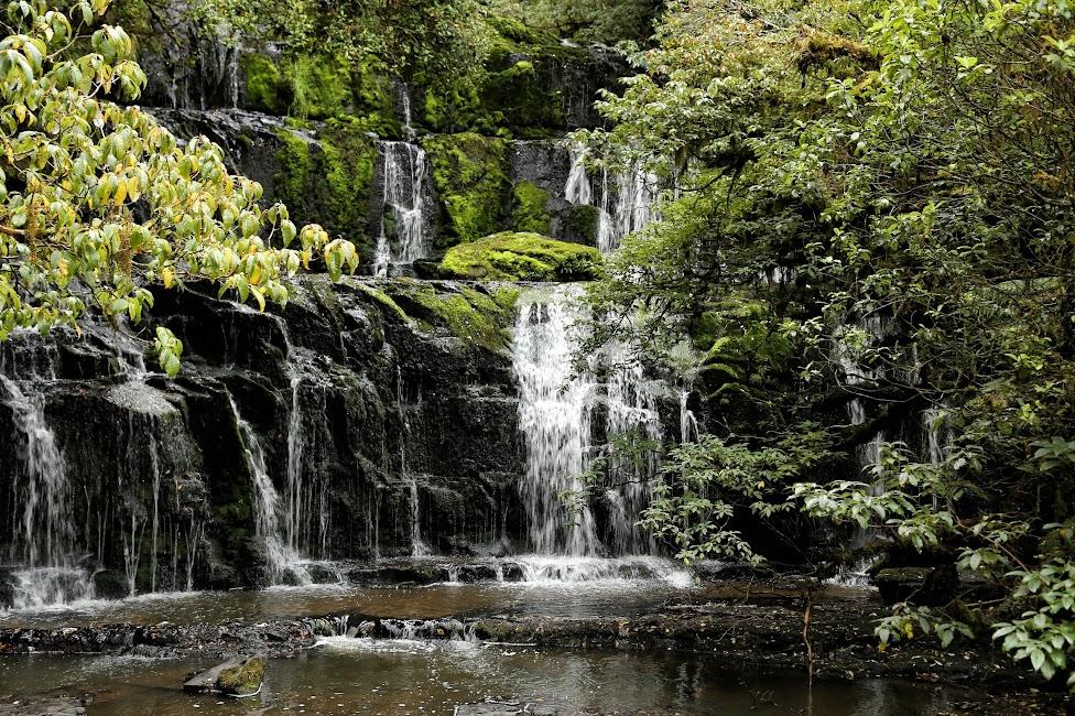 Wodospady Purakaunui