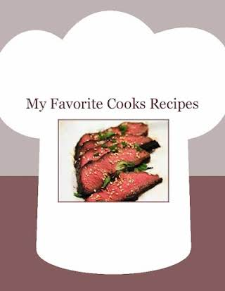 My Favorite Cooks Recipes