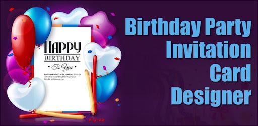 Birthday invitation card maker apps on google play filmwisefo