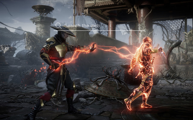 Mortal Kombat 11 HD Wallpaper Tab Theme