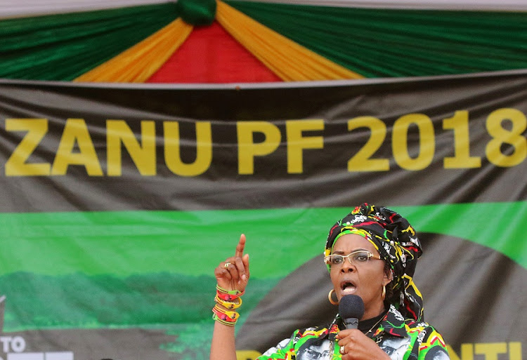 Former Zimbabwe first lady Grace Mugabe. Picture: REUTERS/PHILIMON BULAWAYO