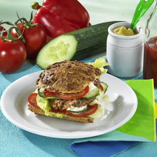 Healthy Cottage Cheese Burgers