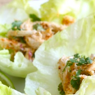 Toasted Coconut & Chicken Lettuce Wraps