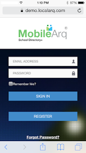MobileArq School Directory+- screenshot thumbnail