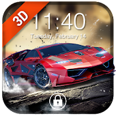 Car Parallax 3D Locker&Live lock screen for Free