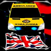 UK Ambulance Whit Siren And Light APK