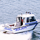 Emergency Police Boat Rescue