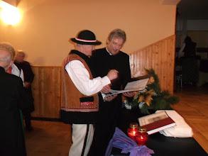 Photo: Ks. Ryszard Pawluś, obecny proboszcz naszej parafii i Józef Urbańczyk