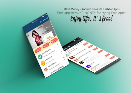 Make Money - Android Rewards Cash for Apps - náhled